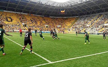 El Stadion Dresden, sede del partido.
