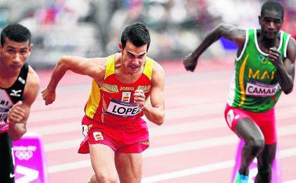 El sevillano Kevin López necesita verse con un mínimo de condiciones para competir en Río.