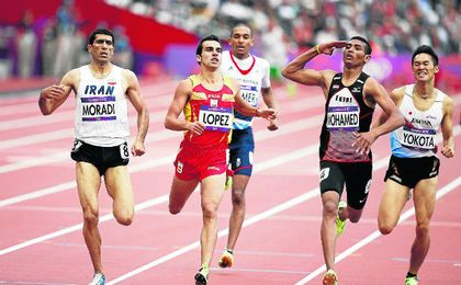 El atletista loreño aún medita su participación en los Juegos.