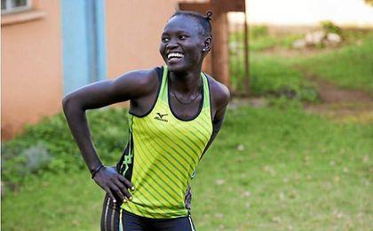 Rose Lokonyen será la abanderada del equipo de refugiados.