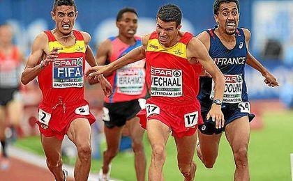 Adel Mechaal, en el campeonato de Europa de atletismo.