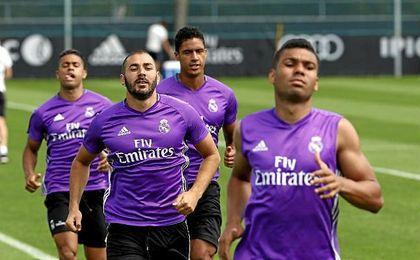 Karim Benzema se ha recuperado antes de afrontar el duelo continental.