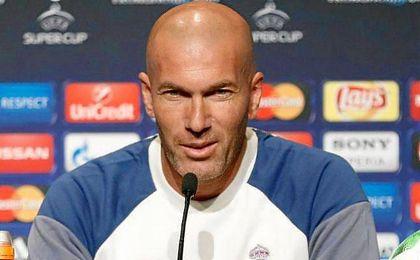 Zinedine Zidane ha comparecido este lunes en rueda de prensa en el Lerkendal Stadion.