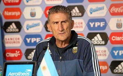 Edgardo Bauza, nuevo seleccionador argentino.