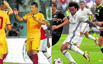 Konoplyanka y Marcelo, con tres goles cada uno, son los máximos goleadores de este verano.