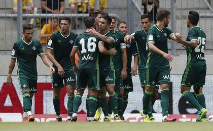 El Betis quiere recuperar el gol en Suiza.