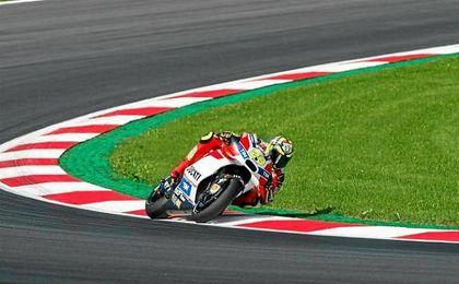 Las Ducati dominaron en el Gran Premio de Austria.