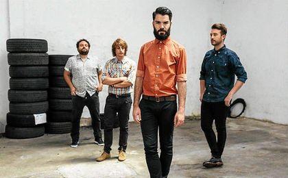 Integrantes del grupo indie Supersubmarina.