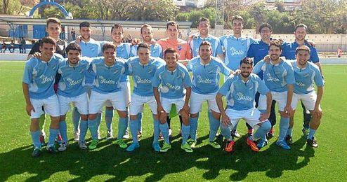 Jugadores de la UD Loreto.
