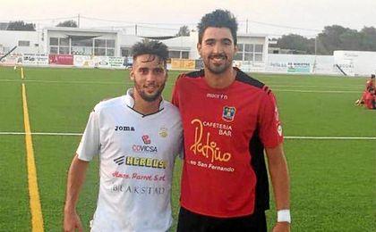 Cristian y Juan Antonio, dos de los sevillanos que han emigrado a Baleares
