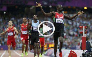 El keniata Rudisha revalida el oro en el 800 m