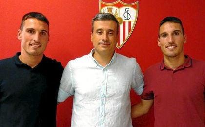 Oficial: Los gemelos San Emeterio, para el Sevilla Atl�tico