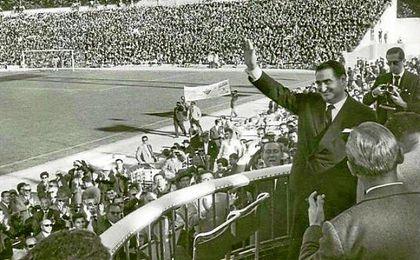 Benito Villamarín fue presidente del Betis de 1955 a 1965.