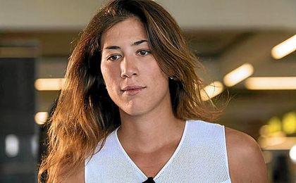 Muguruza, la pequeña de tres hermanos que soñaban con triunfar en el tenis.