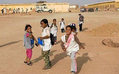 El encuentro solidario será en pro de niños saharauis.