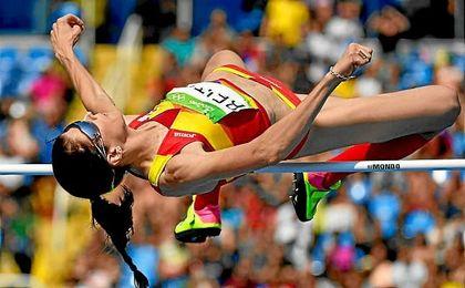 Beitia logró el pase a la final en el primer salto.