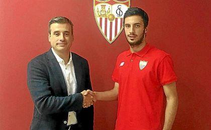 Aburjani, nuevo jugador del Sevilla Atlético.