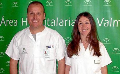 Dos de los enfermeros premiados nacionalmente.