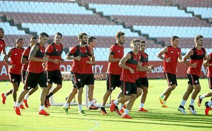 Sampaoli ha citado a 18 hombres para enfrentarse al Espanyol.