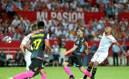 N´Zonzi, durante el partido de liga contra el Espanyol.