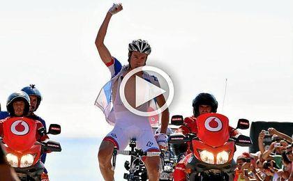El ciclista francés, Alexandre Geniez.
