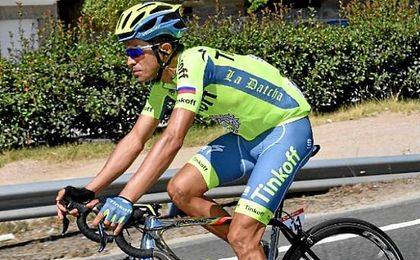 """Contador: """"Hay que ir poco a poco e intentado ganar terreno; ya veremos si lucho por la victoria"""""""