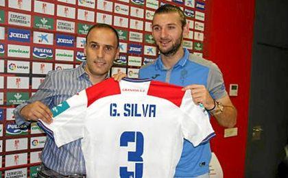 """Gastón Silva: """"El Granada tiene una idea de juego buena y linda, el entrenador es muy bueno """"."""