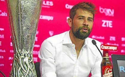 Coke fue el último español en salir del Sevilla.