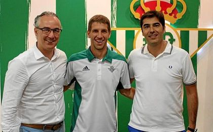 Drako Brasanac, junto a Miguel Torrecilla y Ángel Haro.