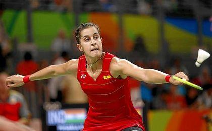 """""""El bádminton crece en España desde que gané mi primer Mundial y ya todo el mundo sabe lo que es"""", ha afirmado Marín."""