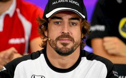 Al final de 2017 termina el contrato del asturiano con McLaren.