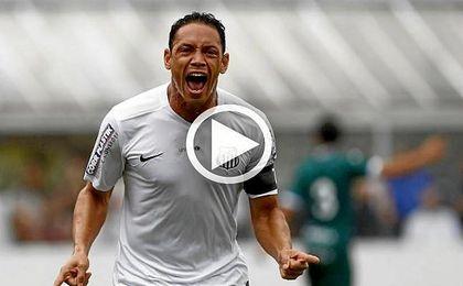 As� se las gasta Ricardo Oliveira en la Copa de Brasil