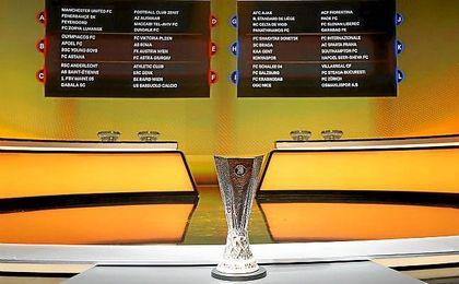 Sorteada la fase de grupos de la Europa League.