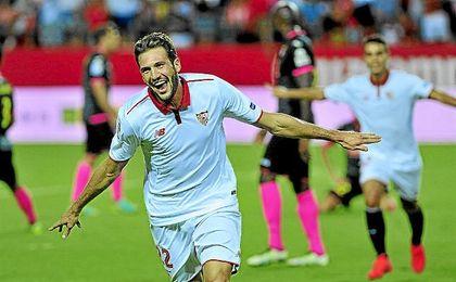 Franco Vázquez ha llamado la atención de Argentina tras su gran comienzo con el Sevilla.