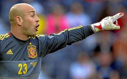 Pepe Reina regresa a la selección de la mano de Lopetegui.