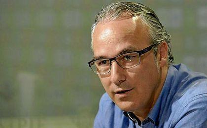 Miguel Torrecilla, durante la presentación de Brasanac.