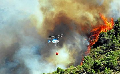 Los incendios forestales son desafortunadamente caracter�sticos del verano.