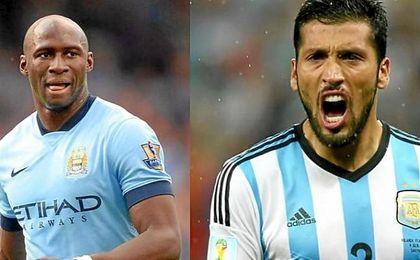 El Valencia jug� su �ltimo partido con Abdennour y Aderlan Santos como centrales.