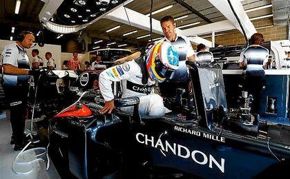 (Previa) Alonso quiere m�s en un circuito complicado para McLaren