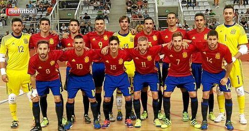 Imagen de la selección española.