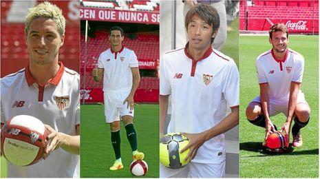 Nasri, Ganso, Kiyotake y el 'Mudo' Vázquez, según Monchi