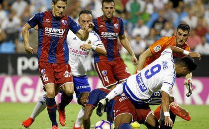 El Zaragoza se aupó al liderado de Segunda.