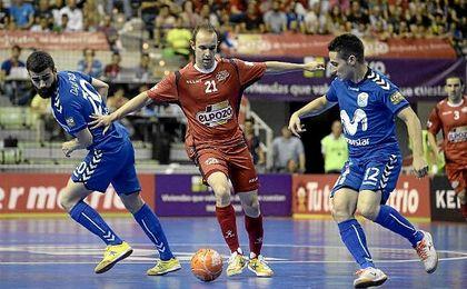 Tercer partido de la final de la LNFS entre El Pozo y el Inter.