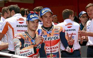 Marc M�rquez y Dani Pedrosa quieren volver a estar entre los cinco primeros