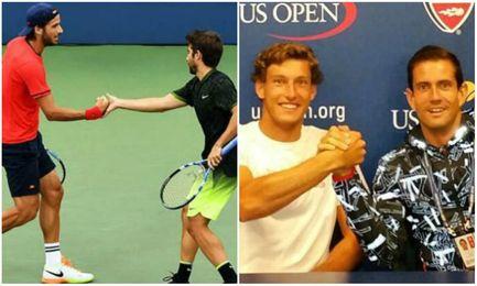 Semifinal espa�ola de dobles en el US Open