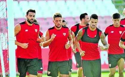 Iborra y Carriço reflejan la media de edad de un Sevilla en el que ellos dos aportan, además, su experiencia como nervionenses.