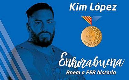 Kim López gana su primer oro en Río.