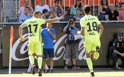 """""""Hoy se ha visto a un equipo que ha salido a ganar y a hacer las cosas bien"""", comentó Joaquín."""
