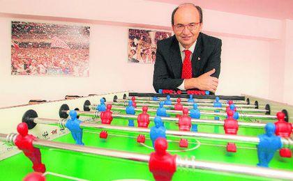 José Castro, que en la imagen posa para ESTADIO, considera que el club no se conforma con estos éxitos