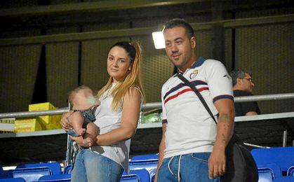 Imagen de la pareja afectada por la venta de entradas.